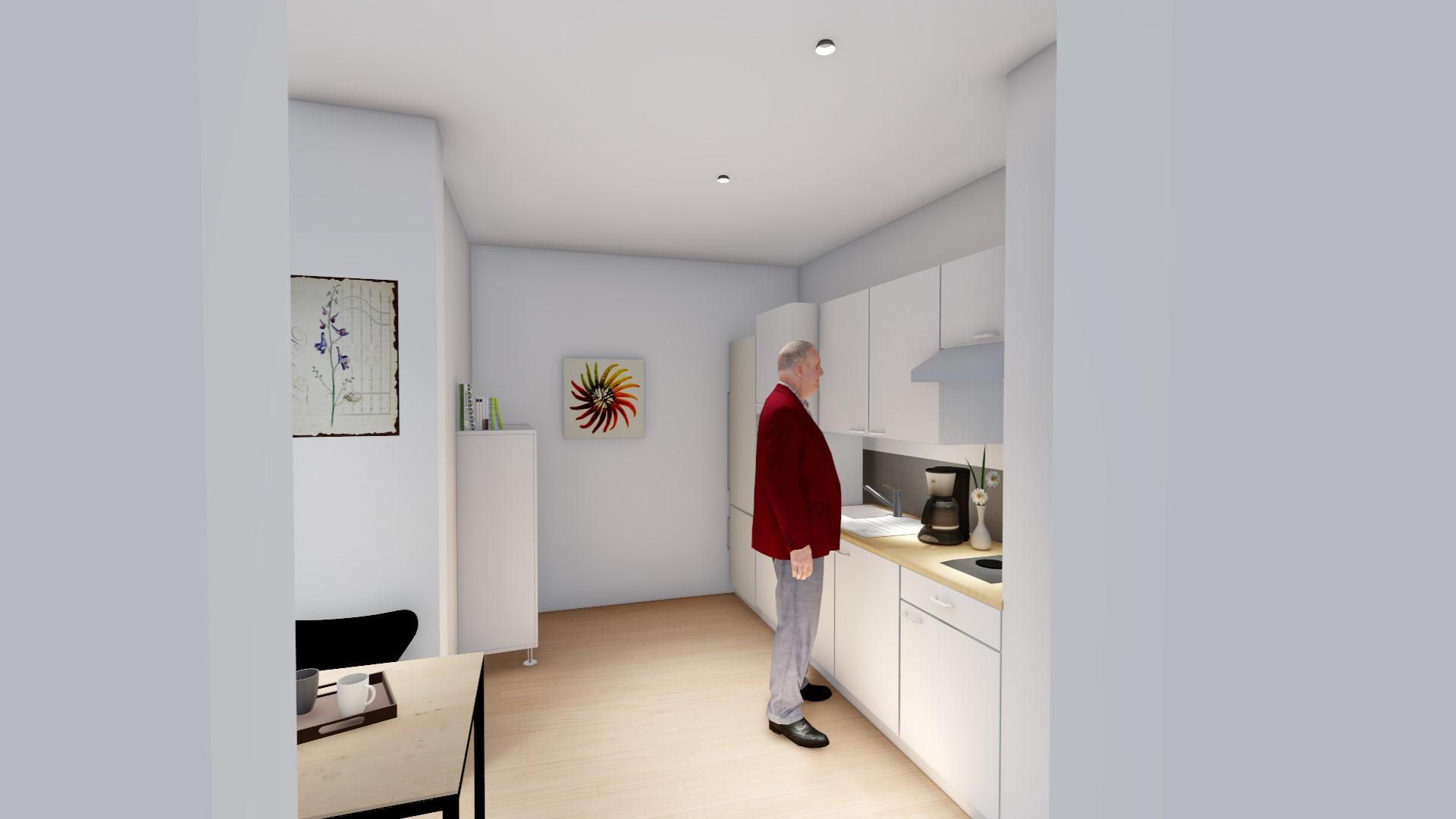 cuisine appartement 1