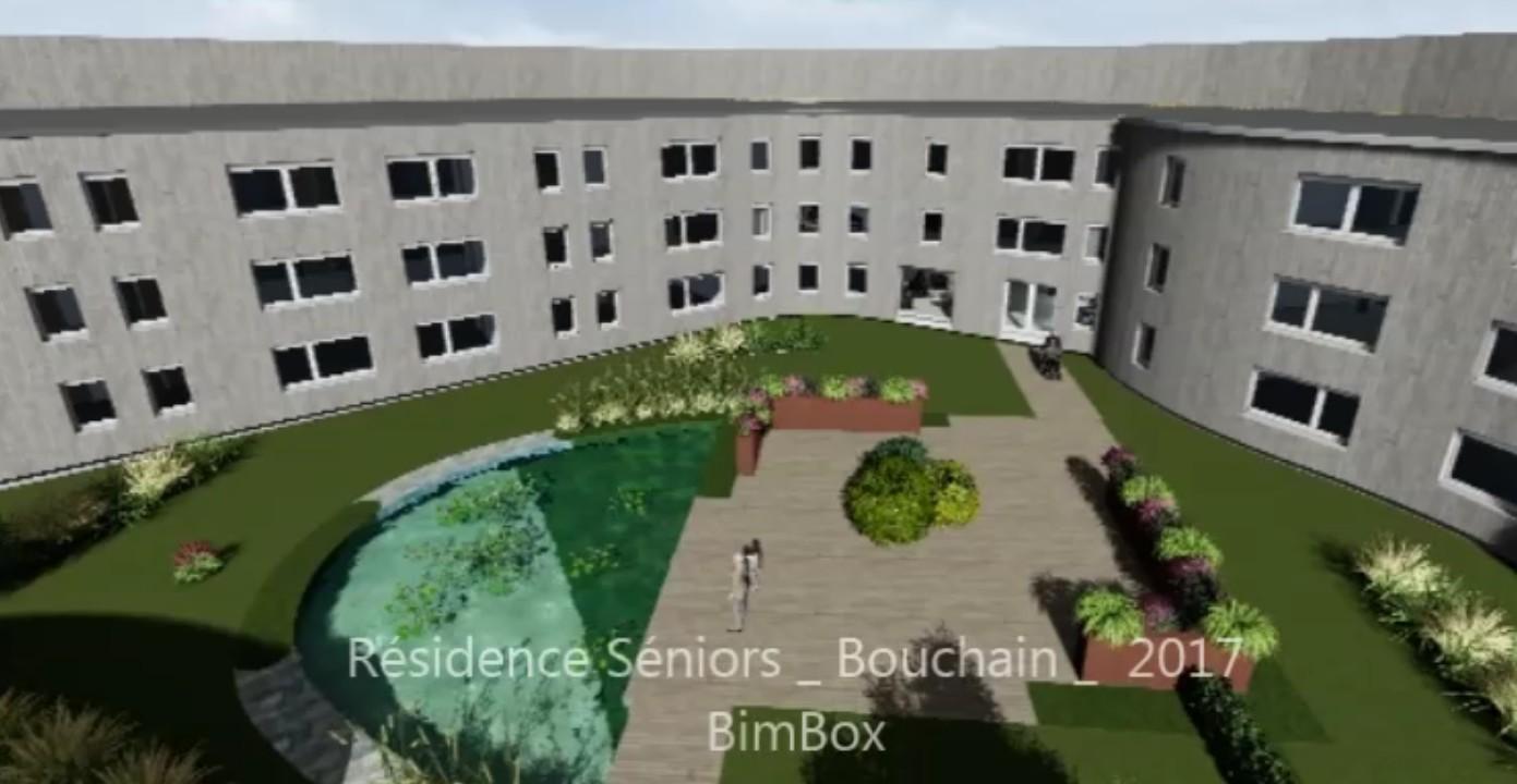 résidence sénior 3d