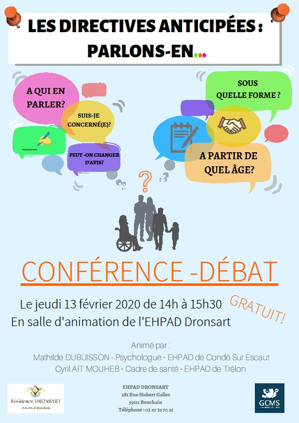 Conférence -débat - 13 fév 2020